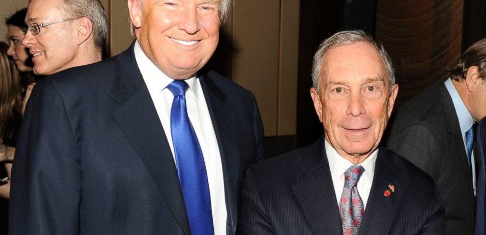 One slogan for Michael Rubens Bloomberg for 2020 United States presidential election